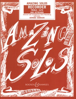 Amazing Solos - Recorder treble Steve Rosenberg Partition laflutedepan