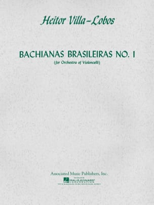 Bachianas Brasileiras N° 1 VILLA-LOBOS Partition laflutedepan