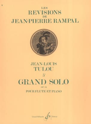 Jean-Louis Tulou - 5th Grand Solo Op. 79 - Sheet Music - di-arezzo.com