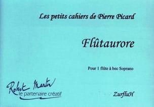 Flutaurore Pierre Picard Partition Flûte à bec - laflutedepan