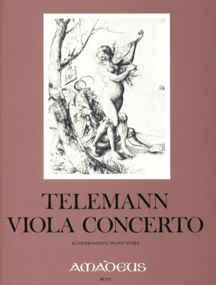 Georg Philipp Telemann - Viola Concerto (in G major) - Partition - di-arezzo.fr