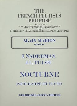Naderman François-Joseph / Tulou Jean-Louis - ノクターン - フルートハープ - 楽譜 - di-arezzo.jp