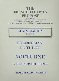 Naderman François-Joseph / Tulou Jean-Louis - Nocturne – Harpe flûte - Partition - di-arezzo.fr