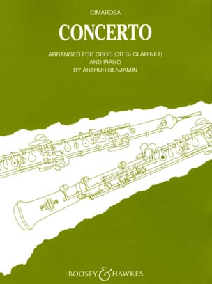Domenico Cimarosa - Concerto - Oboe (clarinet) piano - Sheet Music - di-arezzo.co.uk