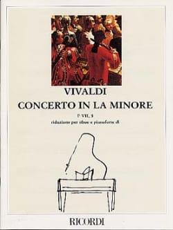 Concerto en la min. - F. 7 n° 5 -Oboe pianoforte - laflutedepan.com