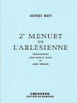 BIZET - 2nd Menuet of L 'Arlésienne - Piano flute - Sheet Music - di-arezzo.com