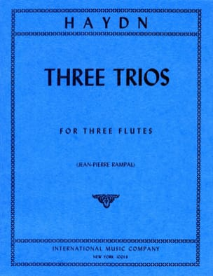 Joseph Haydn - 3 Trios – 3 Flutes - Partition - di-arezzo.fr