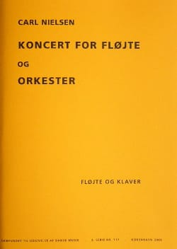 Carl Nielsen - Concerto for Flute and Orchestra - Sheet Music - di-arezzo.co.uk