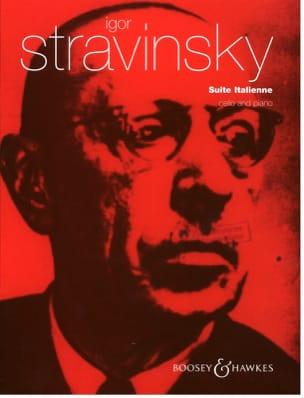Igor Stravinsky - Suite Italienne - Partition - di-arezzo.fr