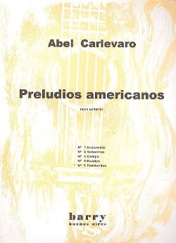 Abel Carlevaro - Preludios Americanos - N ° 5 Tamboriles - Sheet Music - di-arezzo.com