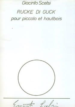 Rucke di Gluck - Giacinto Scelsi - Partition - Duos - laflutedepan.com
