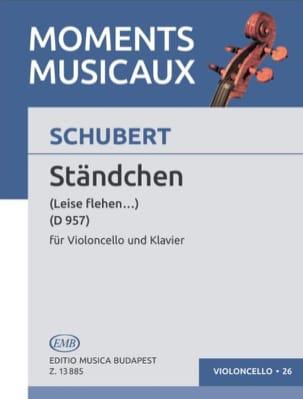 Ständchen D.957 SCHUBERT Partition Violoncelle - laflutedepan