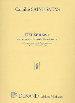 Camille Saint-Saëns - Elephant - Sheet Music - di-arezzo.co.uk