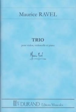Trio - Conducteur Maurice Ravel Partition Grand format - laflutedepan