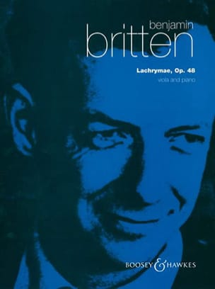 Benjamin Britten - Lachrymae op. 48 - Viola piano - Sheet Music - di-arezzo.co.uk