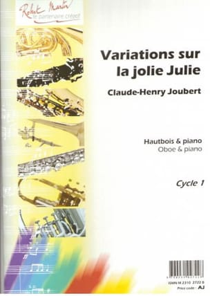 Claude-Henry Joubert - Variations on the Jolie Julie - Sheet Music - di-arezzo.co.uk