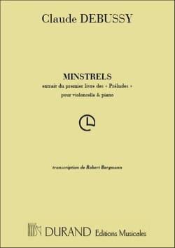 DEBUSSY - Minstrels - Partition - di-arezzo.fr
