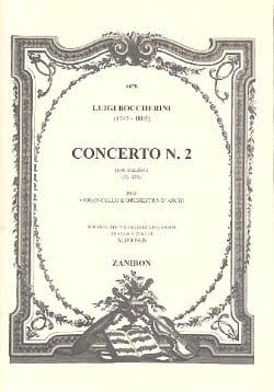 Concerto N° 2 en Ré Majeur G. 479 - BOCCHERINI - laflutedepan.com