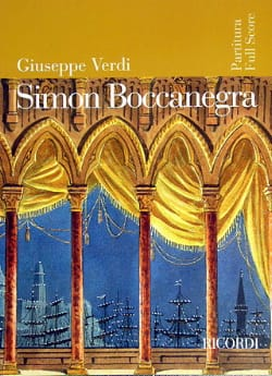 VERDI - Simon Boccanegra new ed. - Partitura - Sheet Music - di-arezzo.co.uk