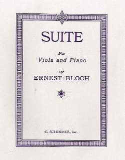 Ernest Bloch - Suite for viola and piano - Sheet Music - di-arezzo.com