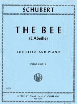 SCHUBERT - La Abeja Op. 13 No. 9 - Violonchelo - Partition - di-arezzo.es