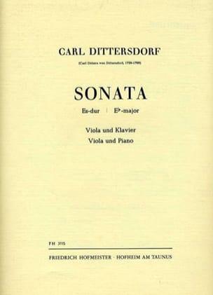 Carl Ditters von Dittersdorf - Sonata Es-Dur - Partition - di-arezzo.fr