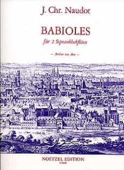 Jacques Christophe Naudot - Baubles Op.10 - Sheet Music - di-arezzo.co.uk