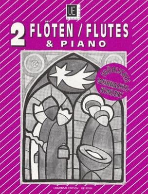 - Fröhliches Weihnachtskonzert - 2 Flöten Klavier - Sheet Music - di-arezzo.com