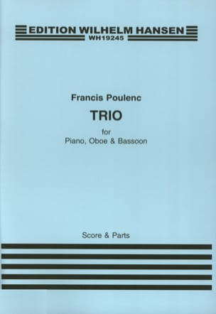 Francis Poulenc - Threesome 1926 - Sheet Music - di-arezzo.com