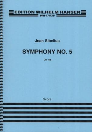 Symphonie n° 5 op. 82 - Partitur SIBELIUS Partition laflutedepan