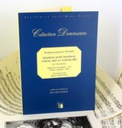 MOZART - Quatuor KV 370 (368b) - Hautbois, violon, alto et cello - Partition - di-arezzo.fr