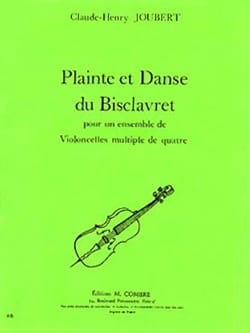 Claude-Henry Joubert - Complaint and Dance of Bisclavret - Sheet Music - di-arezzo.co.uk