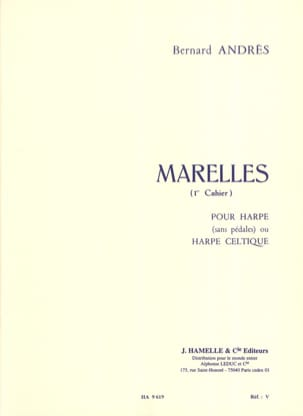Bernard Andrès - Marelles - 1st Booklet - Sheet Music - di-arezzo.co.uk