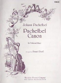Canon - Viola PACHELBEL Partition Alto - laflutedepan