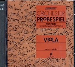 Jenish Kurt / Schloifer Eckart - Orchester-Probespiel CD – Viola - Partition - di-arezzo.fr