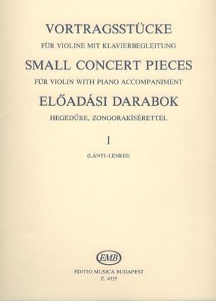 Small concert pieces, Volume 1 - laflutedepan.com
