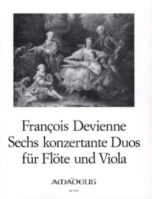 François Devienne - 6 Duos Concertants Opus 5 - Sheet Music - di-arezzo.co.uk