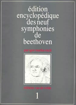 Symphonie N° 1 - Conducteur BEETHOVEN Partition laflutedepan