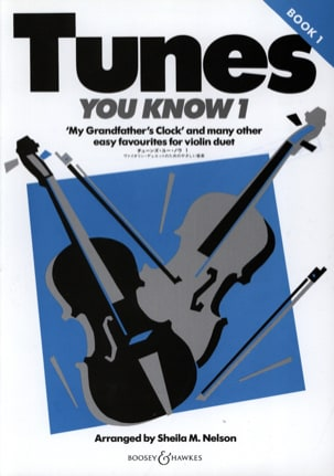 Tunes You Know Volume 1 - Sheila M. Nelson - laflutedepan.com