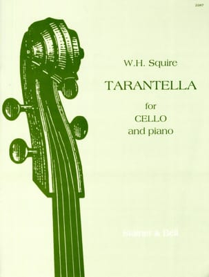 Squire W. H. - Tarantella opus 23 - Sheet Music - di-arezzo.co.uk