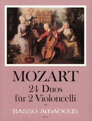 MOZART - 24 Duos for 2 Violoncelli - Sheet Music - di-arezzo.co.uk
