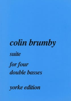 Suite for four double basses Colin Brumby Partition laflutedepan