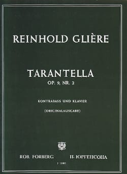 Reinhold Glière - Tarantella op. 9 n ° 2 - Sheet Music - di-arezzo.co.uk