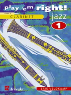 Play'em Right Jazz - Volume 1 -Clarinet Erik Veldkamp laflutedepan