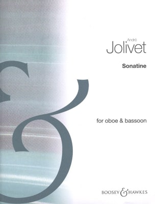 André Jolivet - Sonatine - Oboe and bassoon - Sheet Music - di-arezzo.com