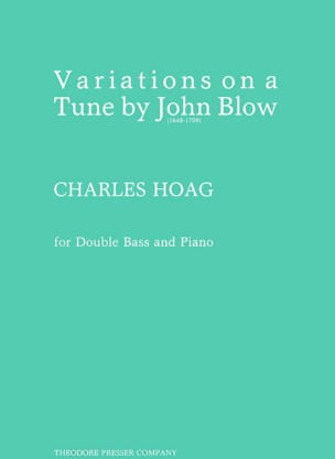 Charles Hoag - Variations On A Tune By John Blow - Sheet Music - di-arezzo.co.uk