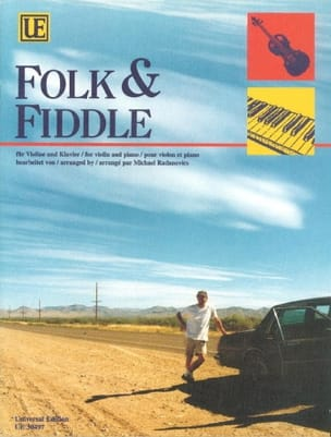 Folk & Fiddle - Violon Michael Radanovics Partition laflutedepan