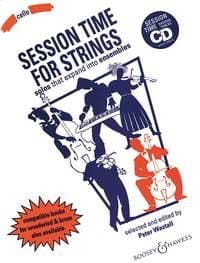 Peter Wastall - Session time for Strings - Cello - Partition - di-arezzo.fr