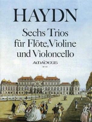 6 Trios - Flöte Violine Violoncello HAYDN Partition laflutedepan
