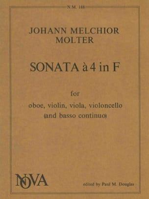 Sonata a 4 in F -Oboe violin viola violoncelle Bc - laflutedepan.com